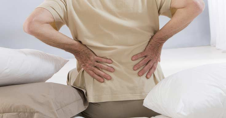 Overcome from Back Pain