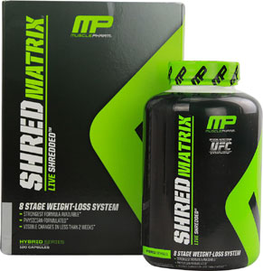 Muscle Pharm Shred Matrix Reviews