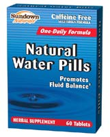 Sundown Natural Water Pill