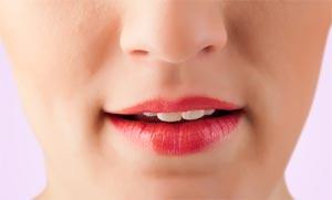 Uneven Lips