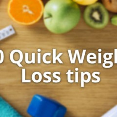 10 Free and Quick Weight Loss Tips