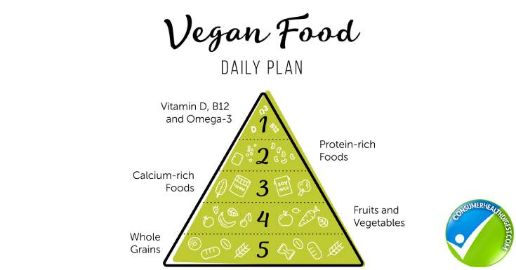 Follow The Vegan Food Pyramid