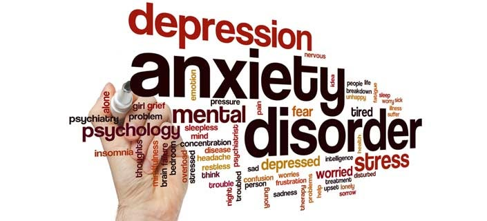 Anxiety Disorders and Depression - Types, Causes ...