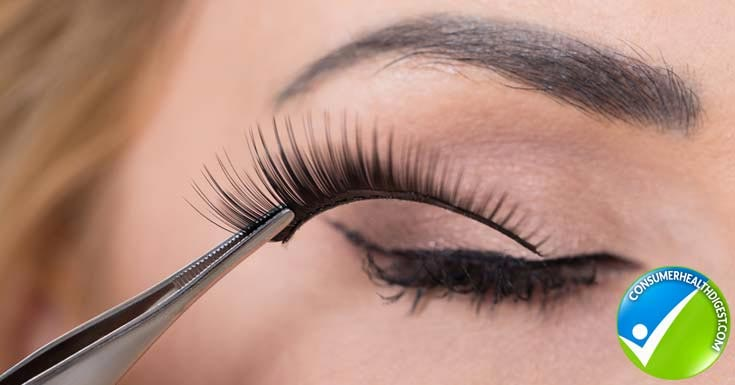 Remove False Eyelashes