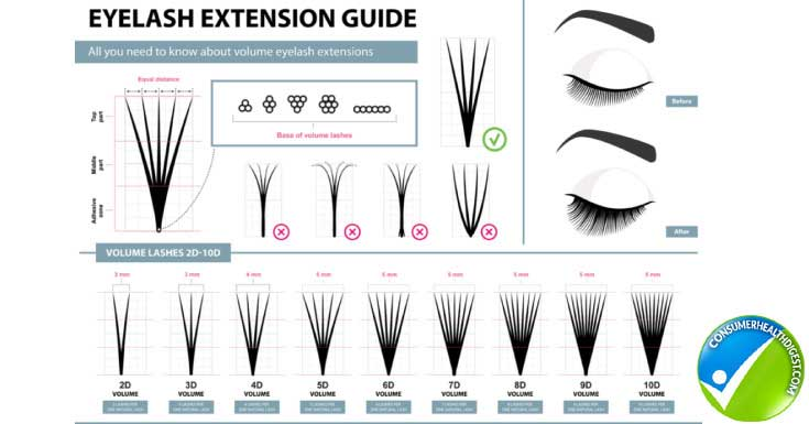 Types of Fake Eyelashes