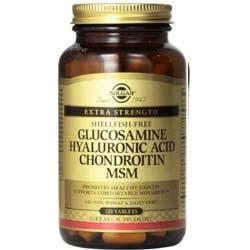 Glucosamine Hyaluronic Acid Chondroitin MSM