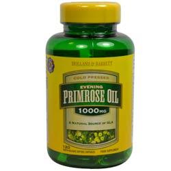 Holland & Barrett Evening Primrose Oil and Starflower Oil Capsules