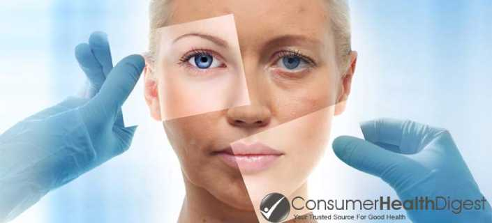 Aging Skin Process