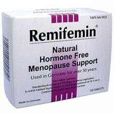 Remifemin Natural Hormone Free Menopause Support