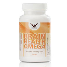 Brain Health Omega Supplement