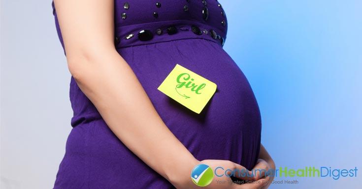 Живот беременной с мальчиком