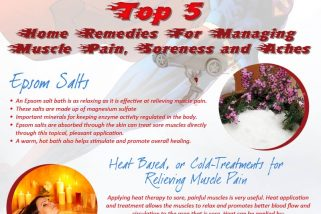 Top 5 Home Remedies For Muscle Pain Relief*