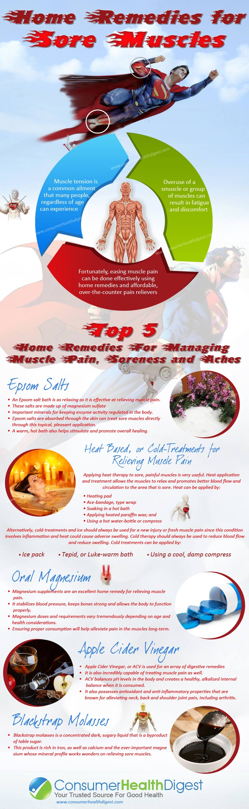 5 Home Reme s For Muscle Pain Relief