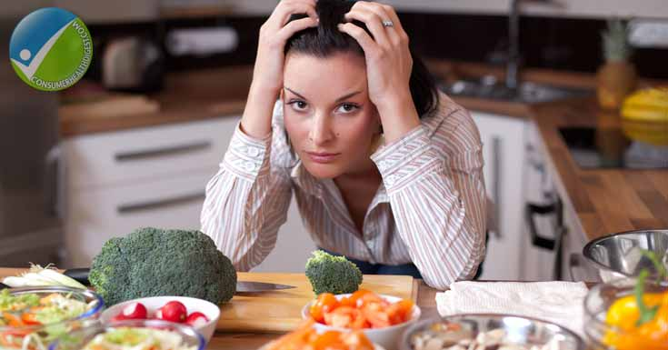 anger and stress using foods
