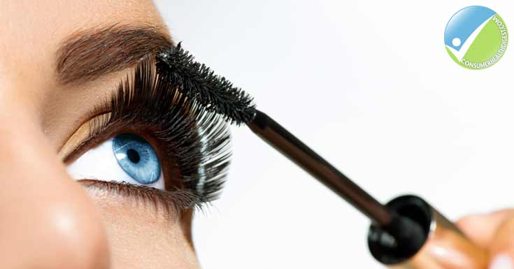 Brush and curl your eyelashes