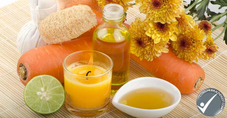 Lemon-honey facial treatment