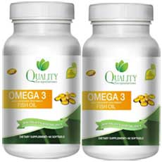Quality encapsulations omega 3 fish oil review updated 2018 for Fish oil for weight loss reviews