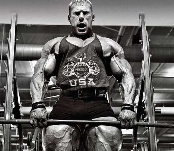Dennis Wolf Workout