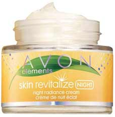 Avon Elements Skin Revitalize Night Radiance Cream
