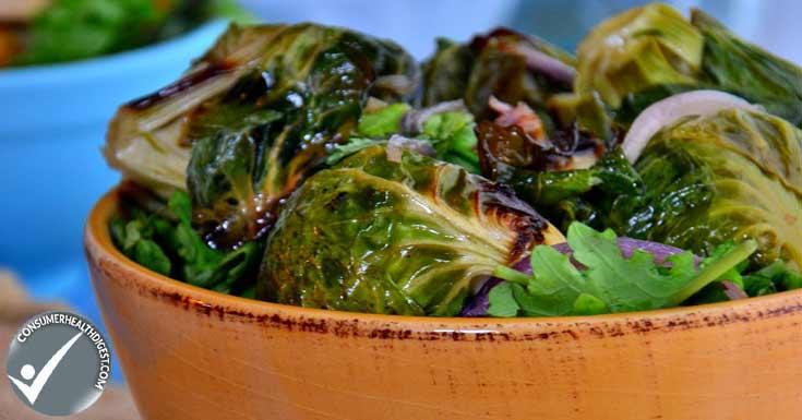 Coconut Roasted Brussels Sprouts