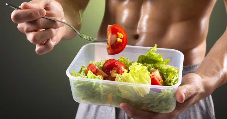 Diet Contribute In Muscle Building