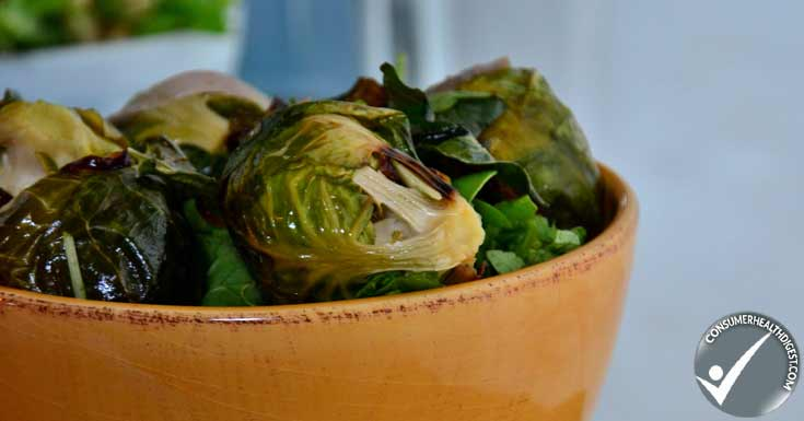 CoconutServes Roasted Brussels Sprouts