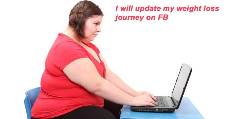 Social Media Helps Weightloss