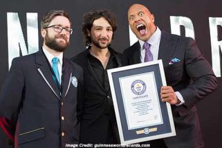Consumer Health Digest Dwayne Johnson Broke the World Record for Most Selfies Taken in 3 Minutes!
