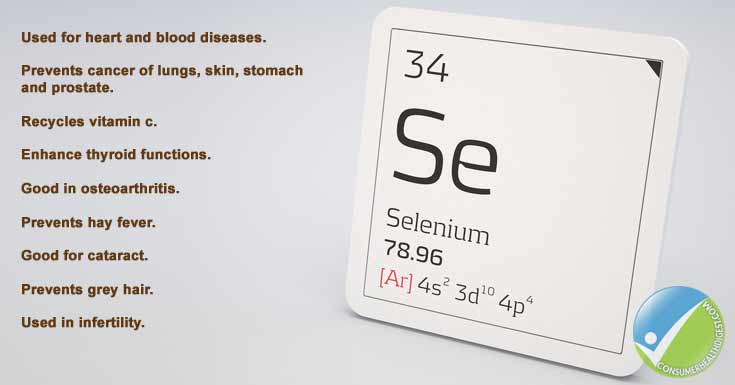 Selenium Health Benefits