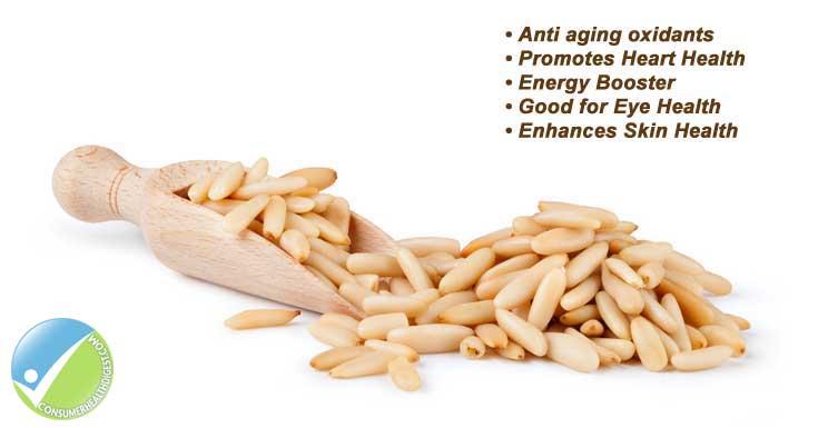 Pine Nuts Health Benefits