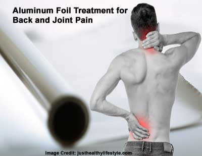 Aluminum Foil Treatment for Back and Joint Pain