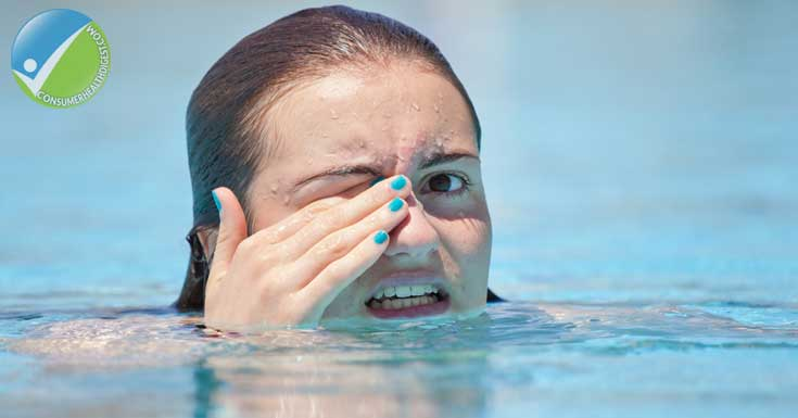 What Makes Your Eyes Red In The Pool