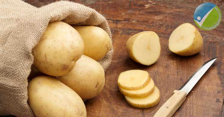 Potatoes Slice To Remove Eye Bag
