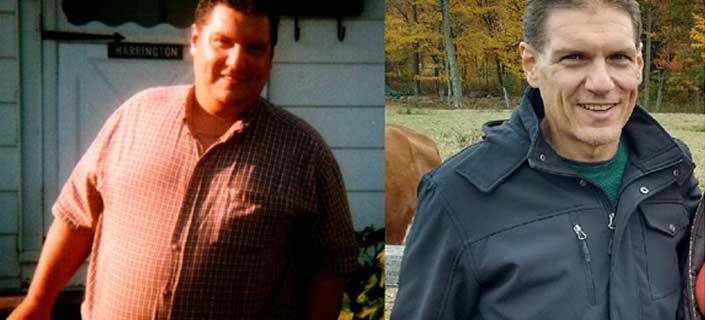 Mike Harringtons Inspiring Weight Loss Story
