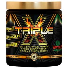 Goldstar Triple X Pre-Workout Formula