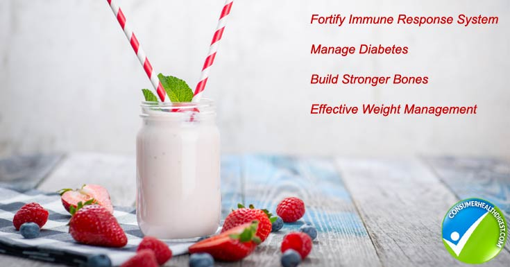 Health Benefits of Yogurt Drinks