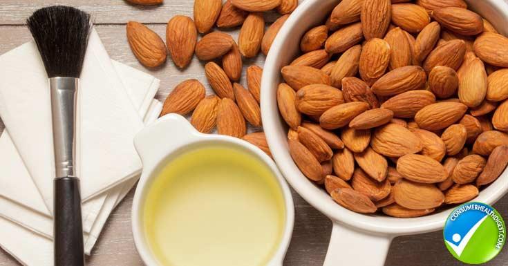 Almond Oil as a Skin-lightener