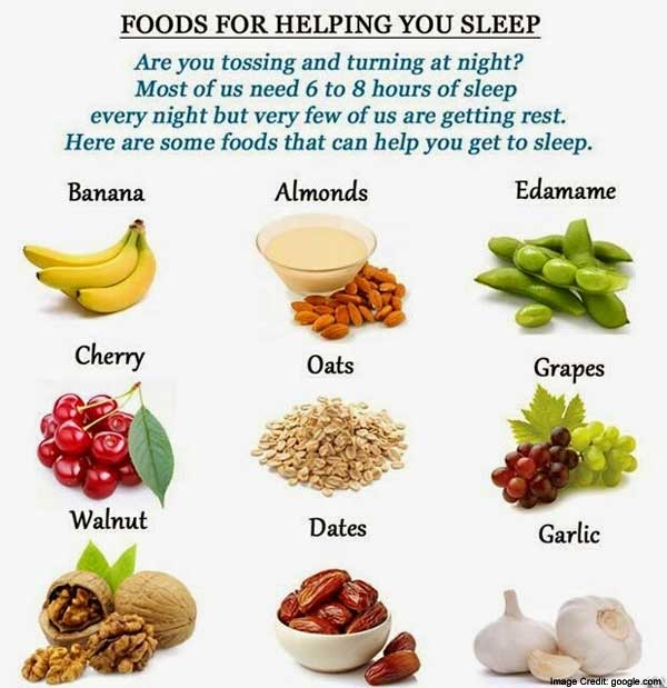 Food For Sleep Info