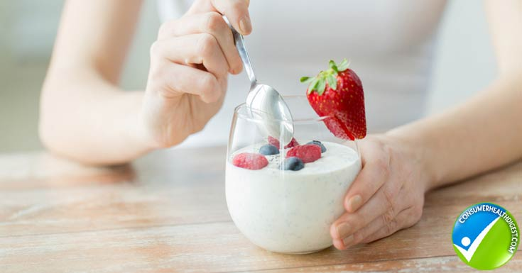 Yogurt is your friend