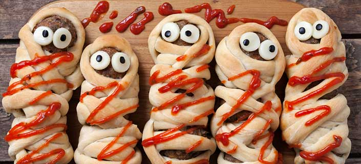 Halloween Party appetizers