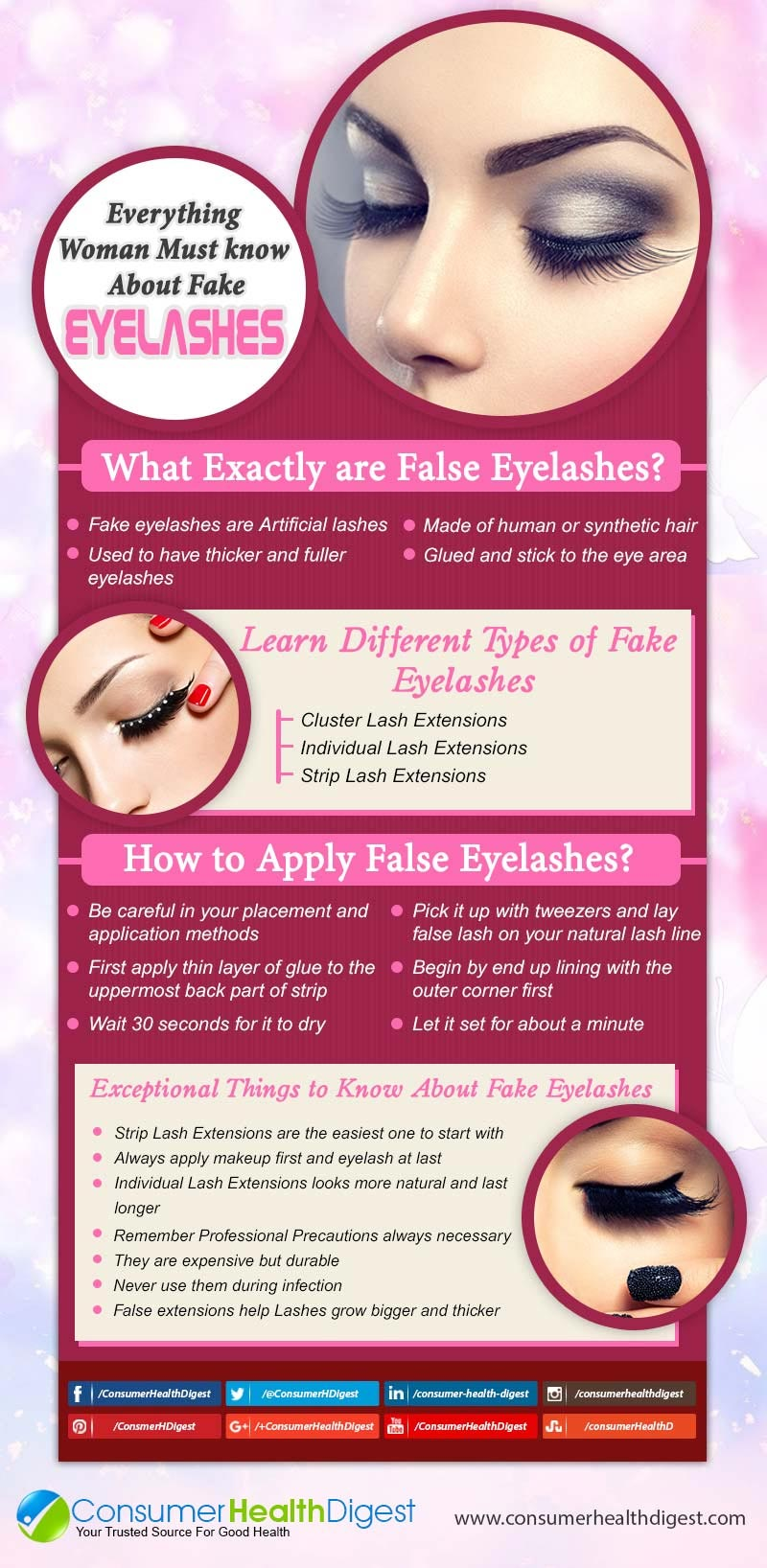 About  Fake Eyelashes Info