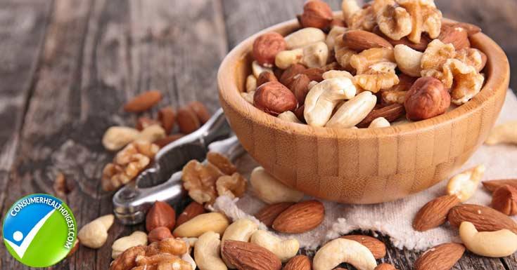 Nuts Help Live Longer