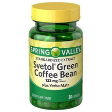 Spring Valley Svetol Green Coffee Bean