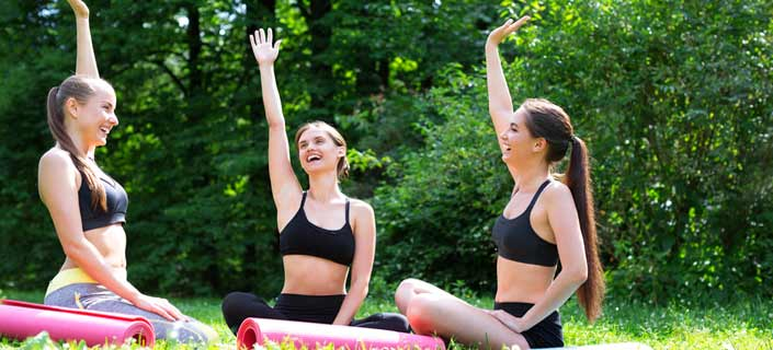 Laugh and Clap Yoga Exercises for Stress Relief