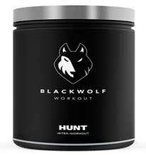 Black Wolf Workout Hunt