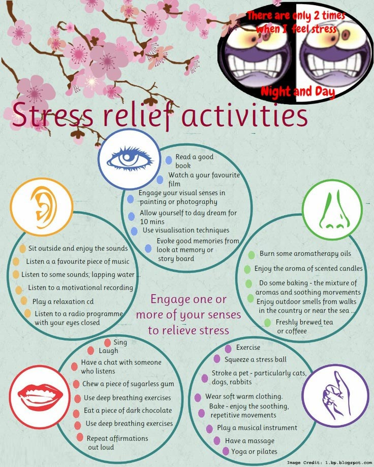 Stress Relief Info