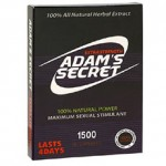 Adam's Secret 1500 Reviews