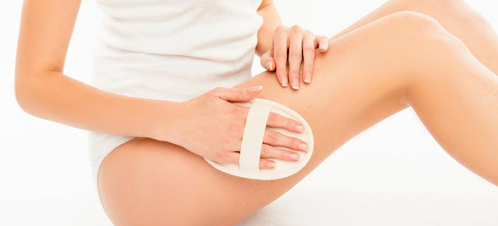 Body Scrub Works To Get Rid of Cellulite