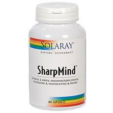 Solaray Sharp Mind
