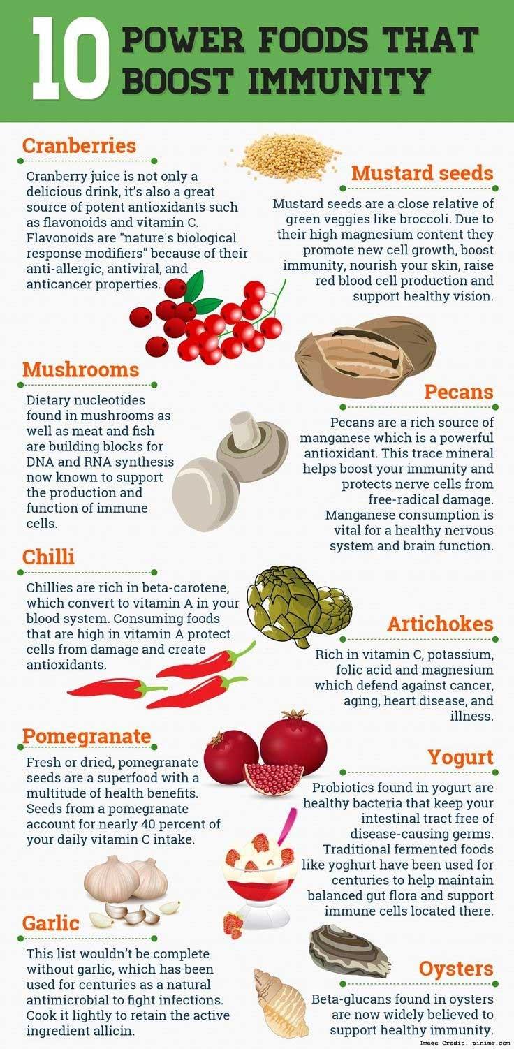 Immunity Food Info